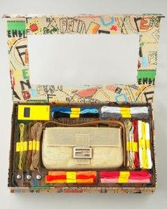 Fendi baguette needlepoint kit